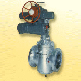 Actuated Lift Plug Valve